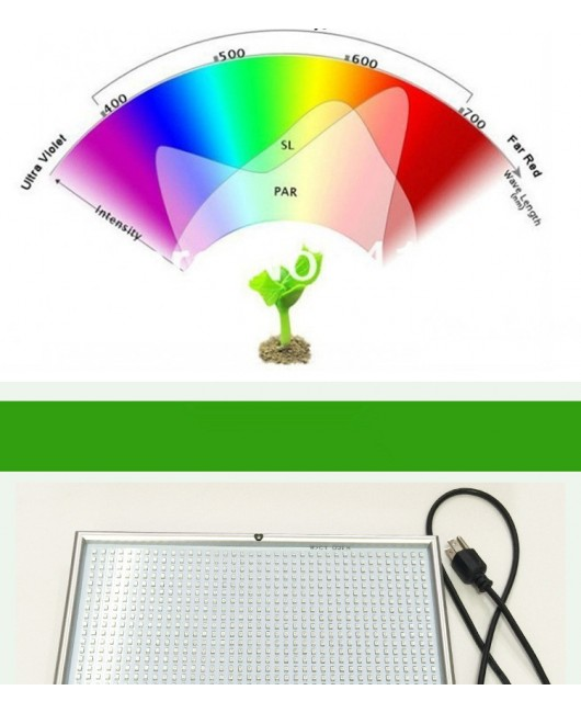 120W Hydroponic Full Spectrum LED Grow Light Greenhouse Indoor Plant Bloom Lamp