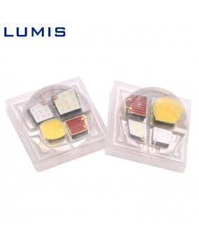 High-power ceramic 3535RGBW four-in-one lamp bead color Ra80 light source 5W full color multi-color LED chip