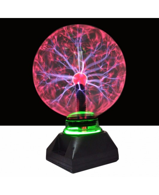 4 5 6 8 inch Magic PLASMA BALL Sphere Light Magic Plasma Ball Finger Touch Change Crystal Light Transparent Lamp Home Decoration