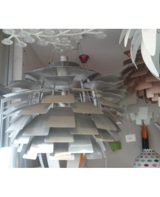 Aluminium luz Pendente Lamp Modern DesignsArtichoke Pendant Lights for Home Poul Henningsen PH Dia 48CM