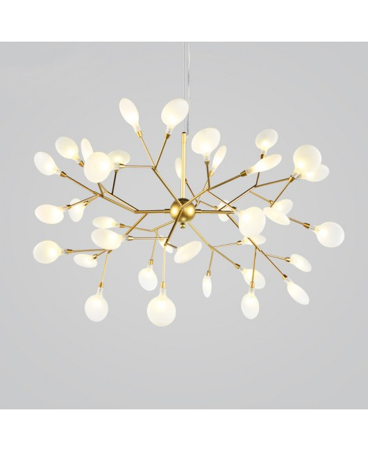 Twig firefly chandelier post modern minimalist art light fixture