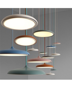 FRP Resin Material Foyer LED Pendant Light Marcel Wanders Internal Pattern Skygarden Led Hanging Light