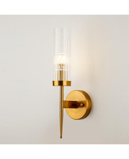 New minimalist bedroom wall lamp Nordic creativity led bedside lamp living room hallway hallway lighting lamps
