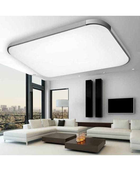Modern 24W/48W/72W Slim LED Ceiling Light Iphone Square Rectangle Living Room Bedroom