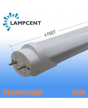 10pcs/Pack 120leds LED Tube T8 Lamp Bulb 4FT 24W 1200MM G13 Fluorescent Replacement