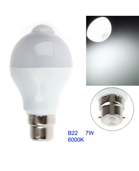 5W/7W/12W Body Infrared Sensor PIR Motion Sensor Detection LED Lamp Bulbs