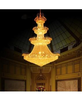 European LED Crystal Chandelier living room villa lobby ceiling light