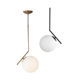 Flos Italy Nordic Postmodern pendant lamp Bedroom Glass Ball pendant light