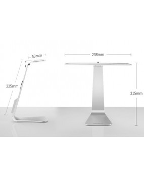 Ultrathin Mac Style 200LM LED 3 Mode Dimming Touch Switch Reading Table Lamp