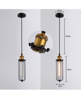 Retro RH Industrial Pendant Lamps for Warehouse/Bar