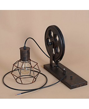 Pulley Lamp Wall Mount Lamp/Ceiling Light Industrial Style