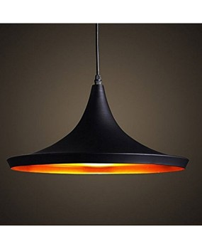 Retro Vintage Art Pendant Light Shades Contemporary Pendant Ceiling Light Black Metal Ceiling Lighting E27 Light Lamp Fixture