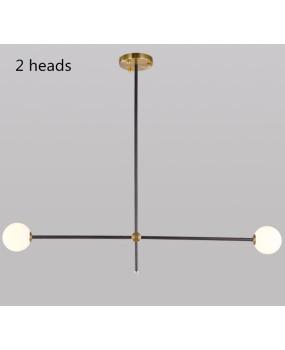 Nordic Lamps Modern pendant light Restaurant Living Room Glass Ball Magic Beans Creative Molecular Lights Personality Study Bedroom Chandelier