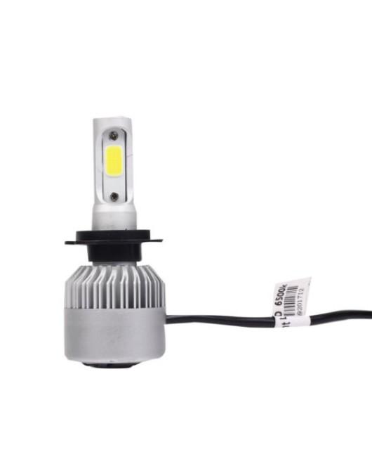 2x S2 H7 72W 16000LM LED Headlight Car Auto Vehicle Bulb Fog Lamp SUV Truck