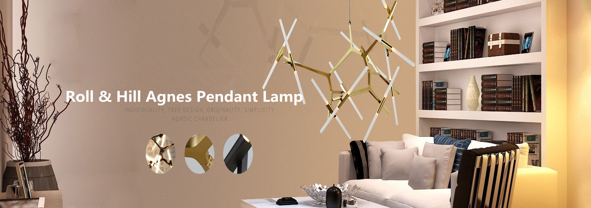 Roll & Hill Agnes Pendant Lamp