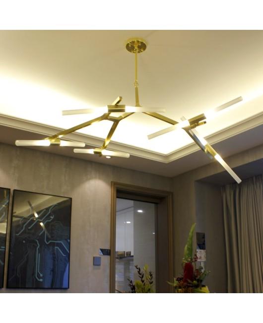 Modern Hill Agnes Lighting Minimalist Art Decoration Branch Agnes Light Famous Italian Lamp Design Living Room Agnes Chandelier