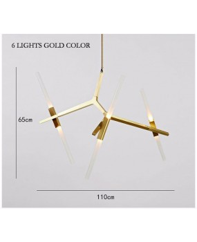 Modern Hill Agnes Lighting Minimalist Art Decoration Branch Agnes Light Famous Italian Lamp Design Living Room Agnes Chandelier