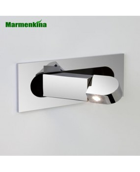 3W LED Recessed Wall Lights Hotel room headboard indoor wall lamp rotating folding spotlight warm white