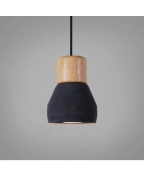 Nordic cafe restaurant bar counter bedside Pendant Lamp solid wood cement pendant light E27 / E26
