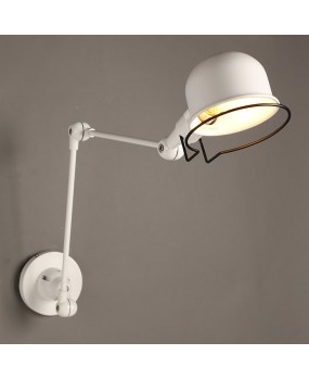 RH loft Robot arm wall lamp Jielde wall light reminisced retractable mechanical arm lamp vintage, With Switch
