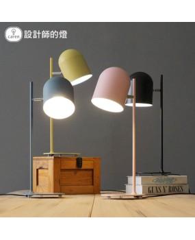 Creative living room minimalist personality Scandinavian modern Macaron study desk lamp study lamp