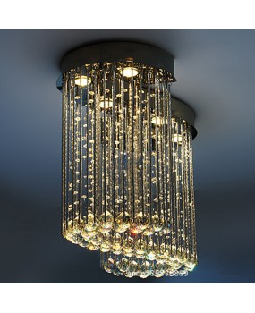 Creative Dining Room Chandelier S Model K9 Crystal Bedroom Light Simple Living Room LED Crystal Light Hall Ceiling Light