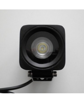 10W Cree LED Work Lights 12V 24V Waterproof for Forklift excavator Truck Trailer ATV light