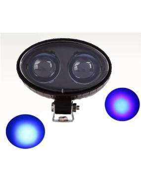 10W LED Warning Lights Spotlight for Forklift bulldozer excavator Forklift Safety Blue Red AC/DC 10V-80V