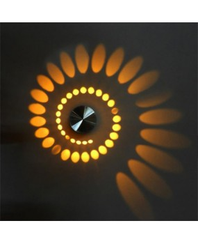 Modern 3W  led wall lamp Wall Wash Lights Creative Indoor Wall Sconce Lamp