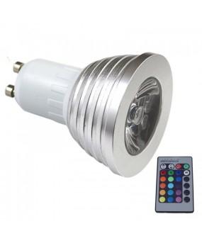 Spotlight 16 Color Changing lamp switch AC 85V-240V