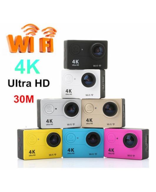 H9 Utral HD 4K Action Sports WiFi LCD Camera 30M Waterproof Go Kart HDMI Helmet
