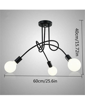 Ceiling Lights bending Ceiling Lamp Light Fixtures Lustre Luminaire Plafonnier For Living Room Home Lighting Lamparas Loft