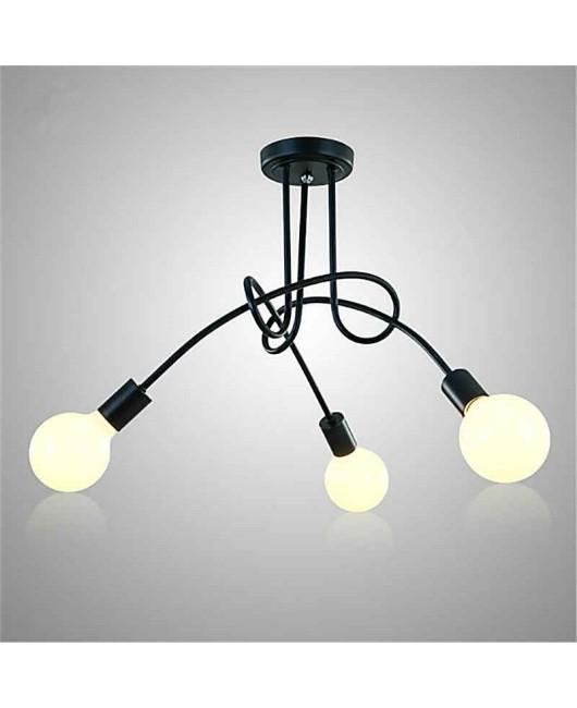 Ceiling Lights bending Ceiling Lamp Light Fixtures Lustre Luminaire Plafonnier For Living Room Home Lighting Lamparas Loft