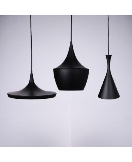 Tom dixon pendant lamp Beat Light Ceiling Pendant Light Lamp Shade copper Lampshade Black/White/Red