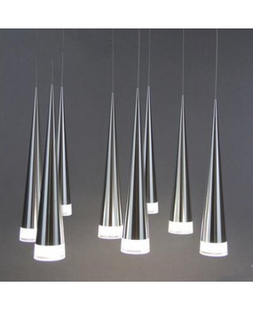 Modern LED conic pendant lamp Aluminum metal home  industrial lighting Restaurant  lounge bar cafe drop light fixture