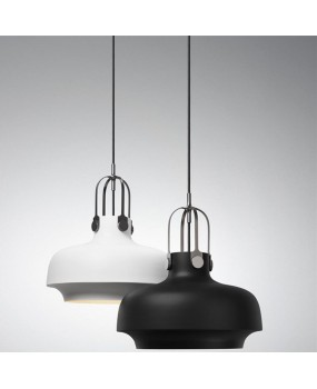 Modern simple aluminum restaurant pendant light pot chandelier E27, AC110-240V