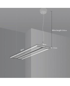 Modern LED simple office lighting lamps and lanterns room rectangular Pendant Lamp simple Pendant lighting AC110-240V