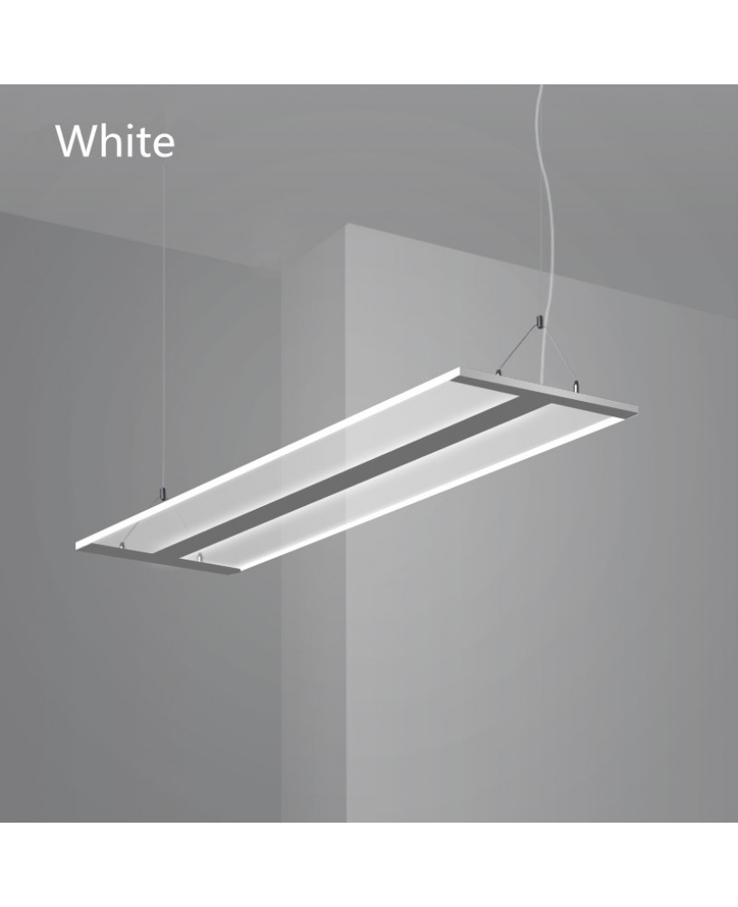 Modern led simple office lighting lamps and lanterns room modern led simple office lighting lamps and lanterns room rectangular pendant lamp simple pendant lighting ac110 240v aloadofball Gallery