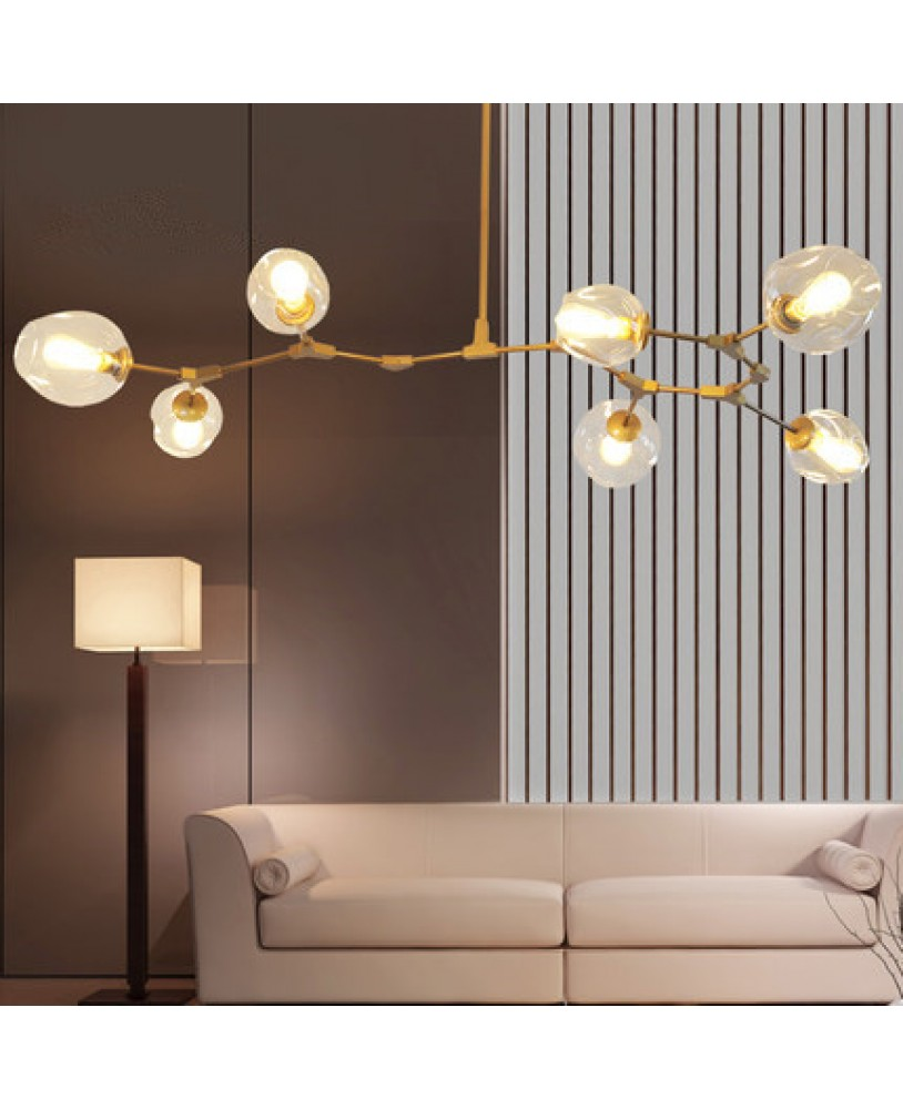 pendant lighting bedroom. Modern Simple Elements Pendant Lamp Living Room Bedroom Designer Glass Lighting M