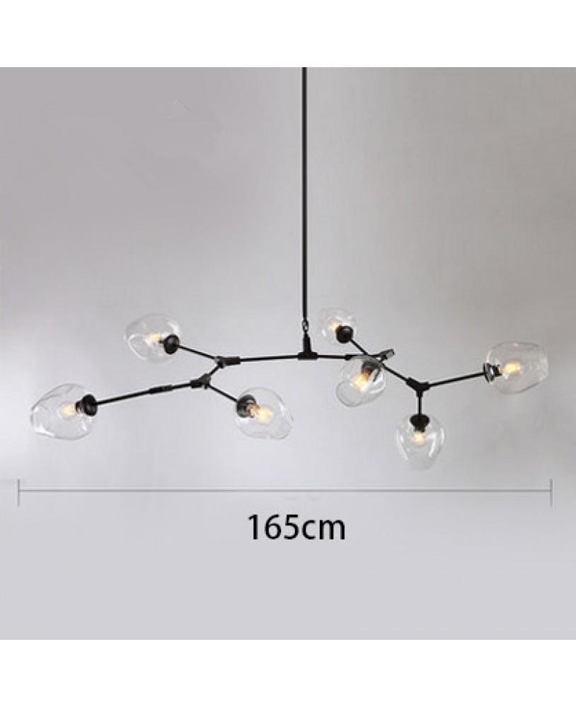 Modern simple Elements Pendant Lamp living room bedroom creative ...