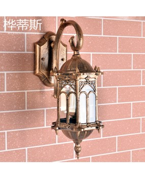 European wall lamp outdoor waterproof Villa lights outdoor garden lighting corridor hallway door light AC110-240V
