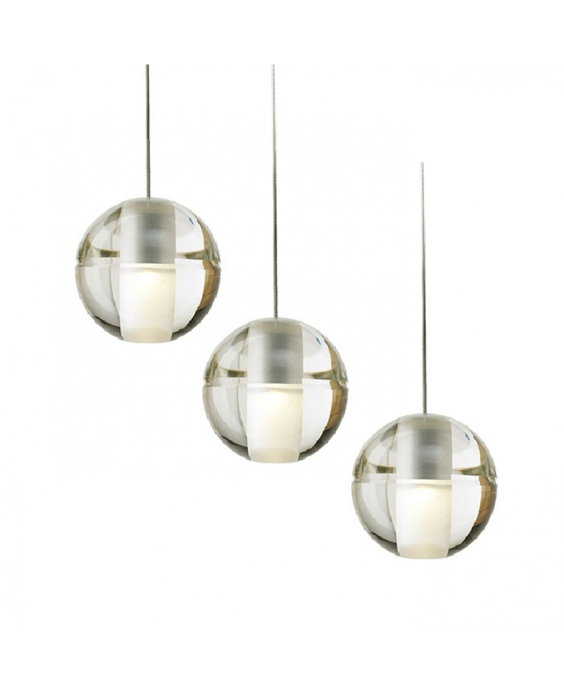 Ideal Bocci LED meteor shower crystal ball chandelier modern stair  IF01
